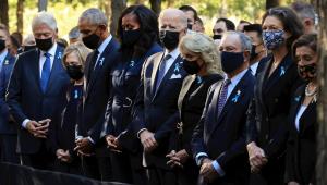 Joe Biden participa de homenagem em Nova York