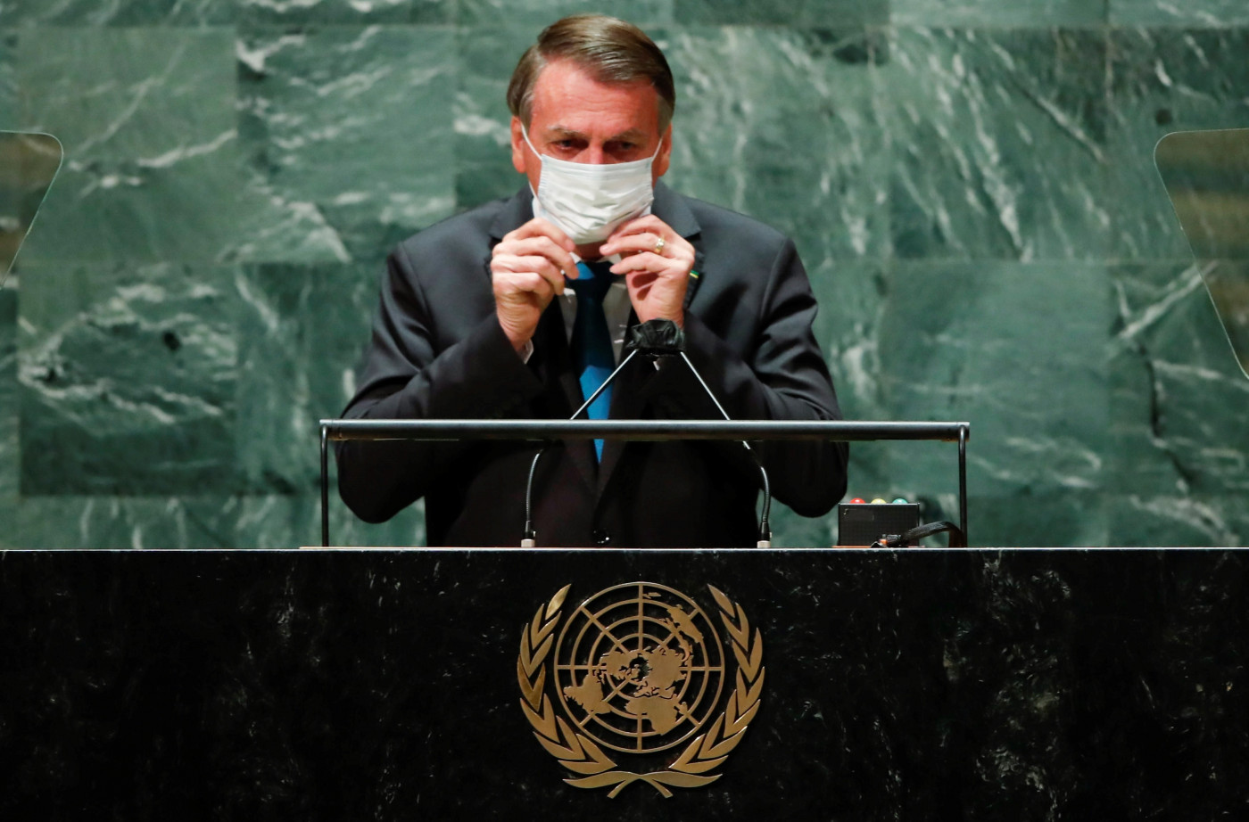 Jair Bolsonaro na Assembleia-Geral da ONU