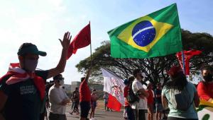 MANIFESTAÇÃO CONTRA O GOVERNO BOLSONARO EM BRASÍLIA