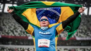 Alessandro Rodrigo conquistou a medalha de ouro nas Paralimpíadas de Tóquio