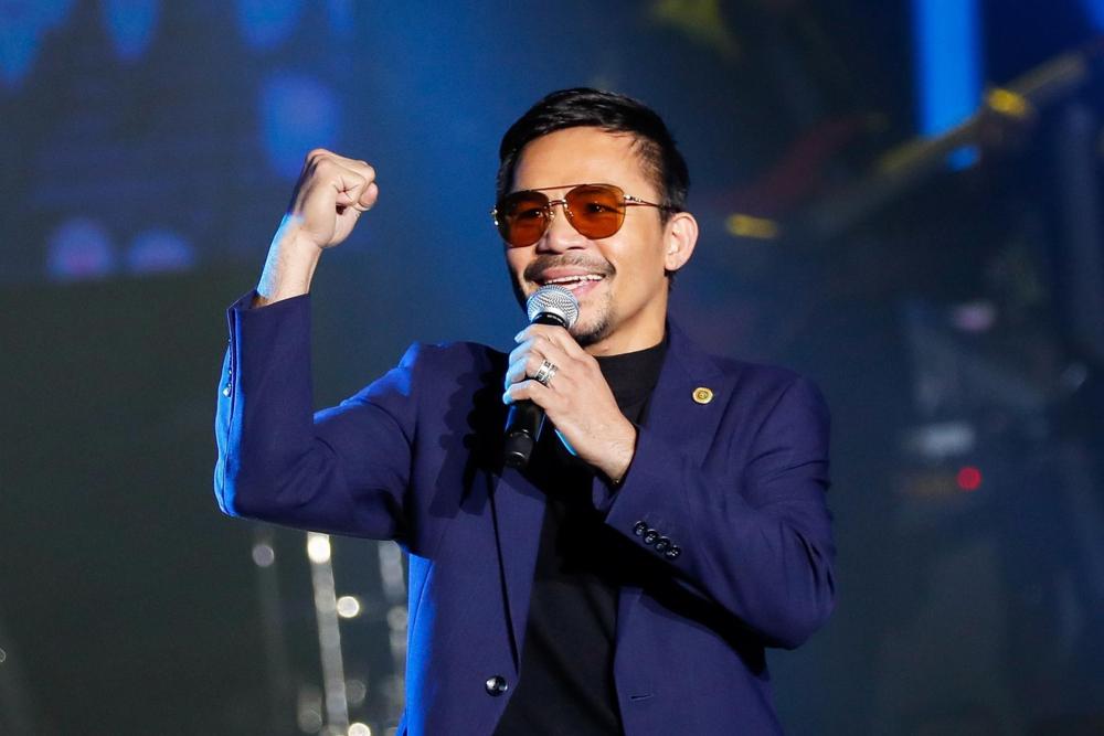 Manny Pacquiao vai concorrer à presidência nas Filipinas
