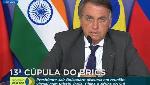 Chefe de Estado discursa em cúpula do BRICS