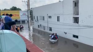 Fortes chuvas provocam inundação e mortes no México