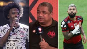 Vampeta comparou os elenco de Corinthians e Flamengo