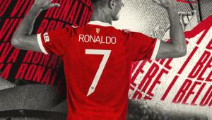 Cristiano voltará a usar a camisa 7 no Manchester United