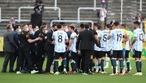 Brasil x Argentina foi suspenso após interferência da Anvisa na partida válida pelas Eliminatórias