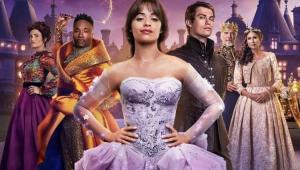 Pôster do filme Cinderela com os protagonistas