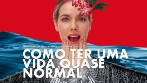Cartaz da peça protagonizada por Monique Alfradique