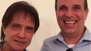 Roberto Carlos e o filho, Dudu Braga