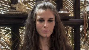 Dani Moreno caracterizada para a novela Gênesis