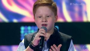 Gustavo Bardim, do time de Michel Teló, vence o 'The Voice Kids'