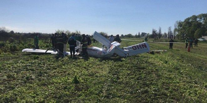 acidente de avião em Buenos Aires