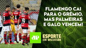 Flamengo PERDE, e Palmeiras e Galo VENCEM antes das SEMIS da Libertadores! | ESPORTE EM DISCUSSÃO