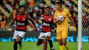 Flamengo VENCE o Barcelona-EQU e PÕE UM PÉ na FINAL da Libertadores! | CANELADA (22/09/21)