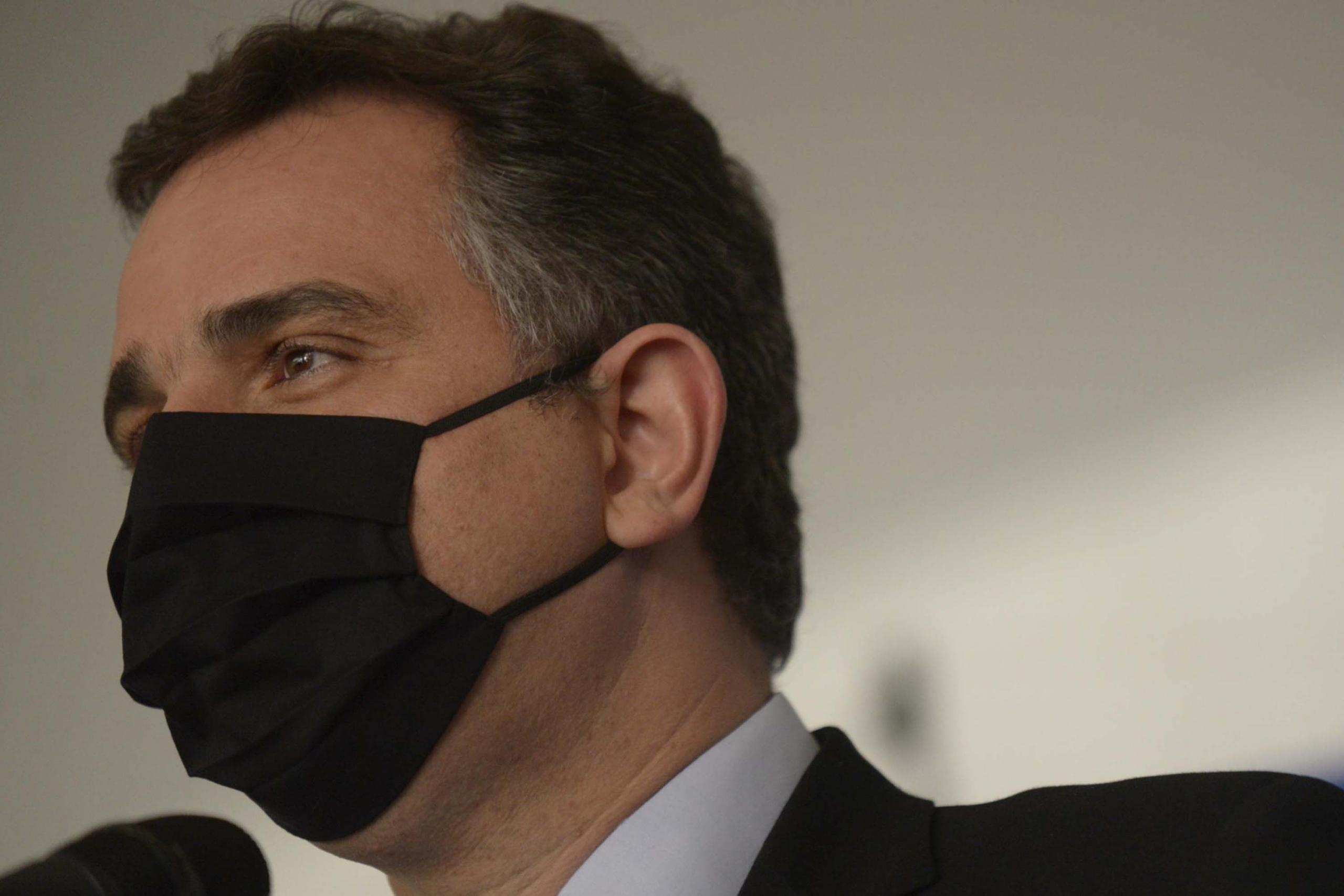 Foto de perfil do presidente do Senado, Rodrigo Pacheco