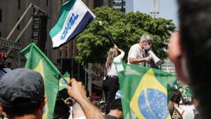 Protesto contra Bolsonaro em São Paulo