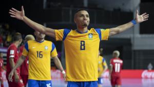 Com vitória sobre Panamá, seleção brasileira segue invicta no Mundial de Futsal