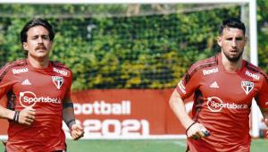 Gabriel e Calleri estão liberados para jogar pelo São Paulo contra o Fluminense