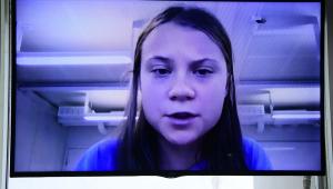 Greta Thunberg participa de audiência remota no Senado Federal