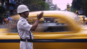 policial na índia