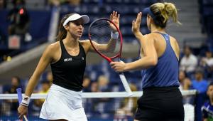 Luisa Stefani está na semifinal do US Open