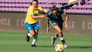 A seleção venceu a Argentina por 3 a 1 em campina Grande, na Paraíba