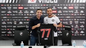 Nenê foi anunciado com a camisa 77 do Vasco