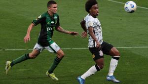 Corinthians e América-MG empataram em 1 a 1 no Brasileirão