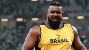 Thiago Paulino ganhou medalha de ouro nas Paralimpíadas de Tóquio
