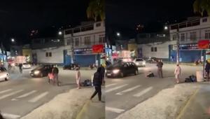Policial Militar agride mulher no Rio de Janeiro