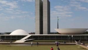 Fachada do palácio do Congresso Nacional