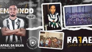 Rafael da Silva é o novo reforço do Botafogo