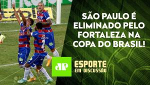 São Paulo DECEPCIONA e CAI para o Fortaleza! | Flamengo ELIMINA o Grêmio! | ESPORTE EM DISCUSSÃO