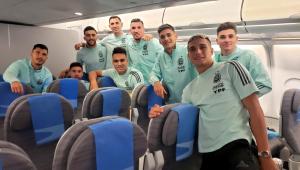 Seleção argentina volta para casa após confusão em jogo contra o Brasil