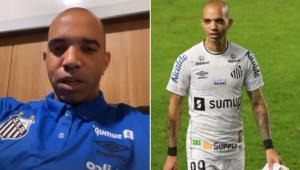 Diego Tardelli foi ameaçado após eliminação do Santos