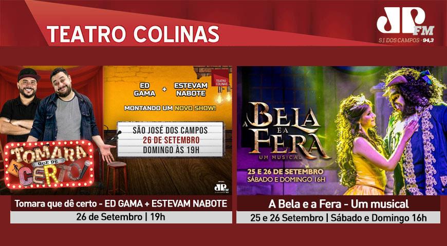 Confira a programação do Teatro Colinas para Setembro!