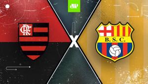 Confira como foi a transmissão da Jovem Pan do jogo entre Flamengo e Barcelona-EQU