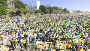 O ato pelo voto impresso e auditável, marcado pelos apoiadores do presidente Jair Bolsonaro, aconteceu também em Brasília (DF), neste domingo, 01 de agosto de 202