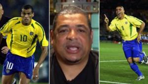 Vampeta falou sobre a briga entre Ronaldo e Rivaldo na Copa do Mundo de 2002