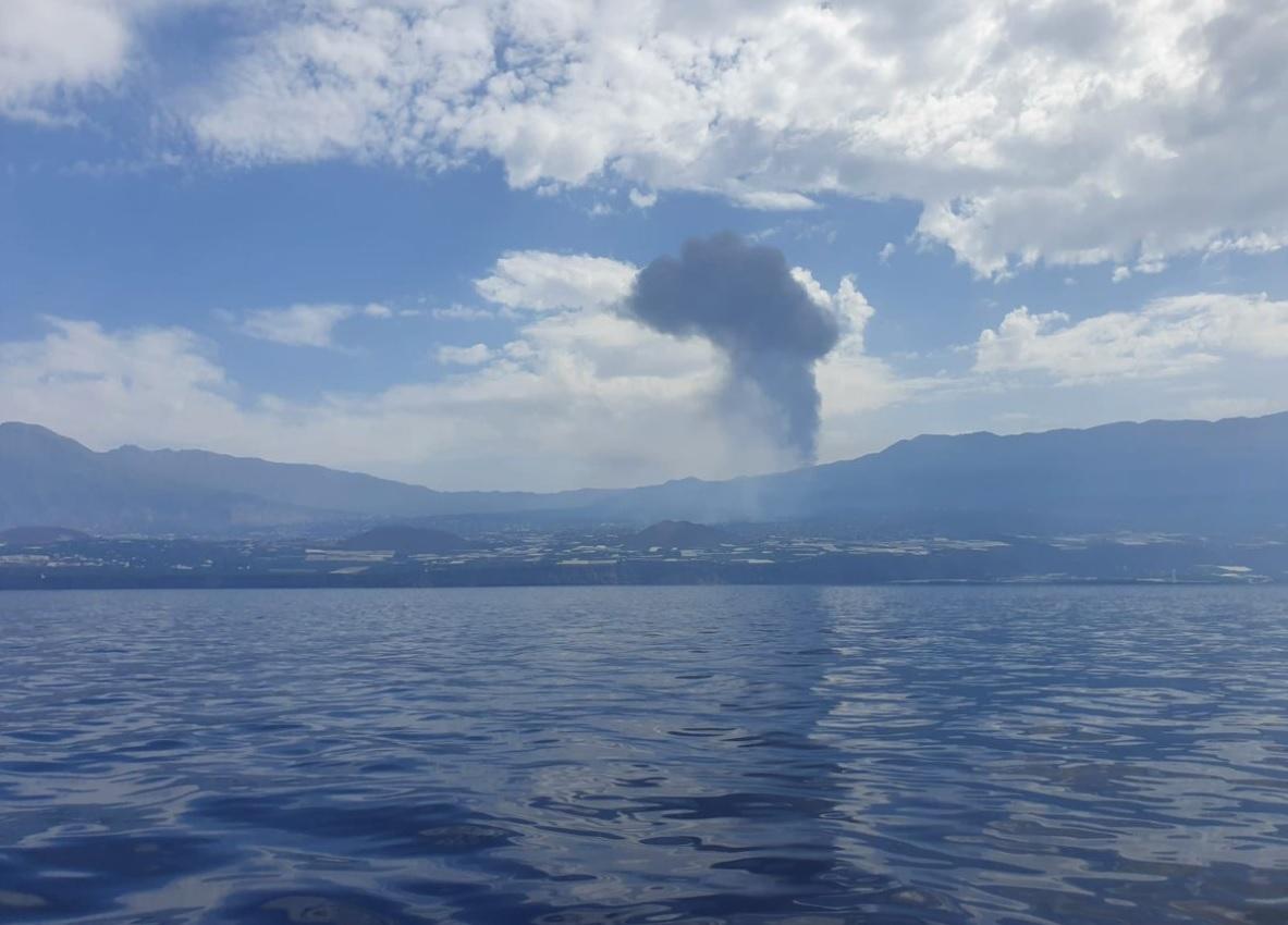 vista do mar na ilha de La Palma