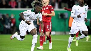 Borussia Monchengladbach venceu e eliminou o Bayern de Munique da Copa da Alemanha