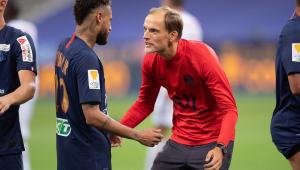 Neymar e Thomas Tuchel trabalharam juntos no PSG por cerca de dois anos