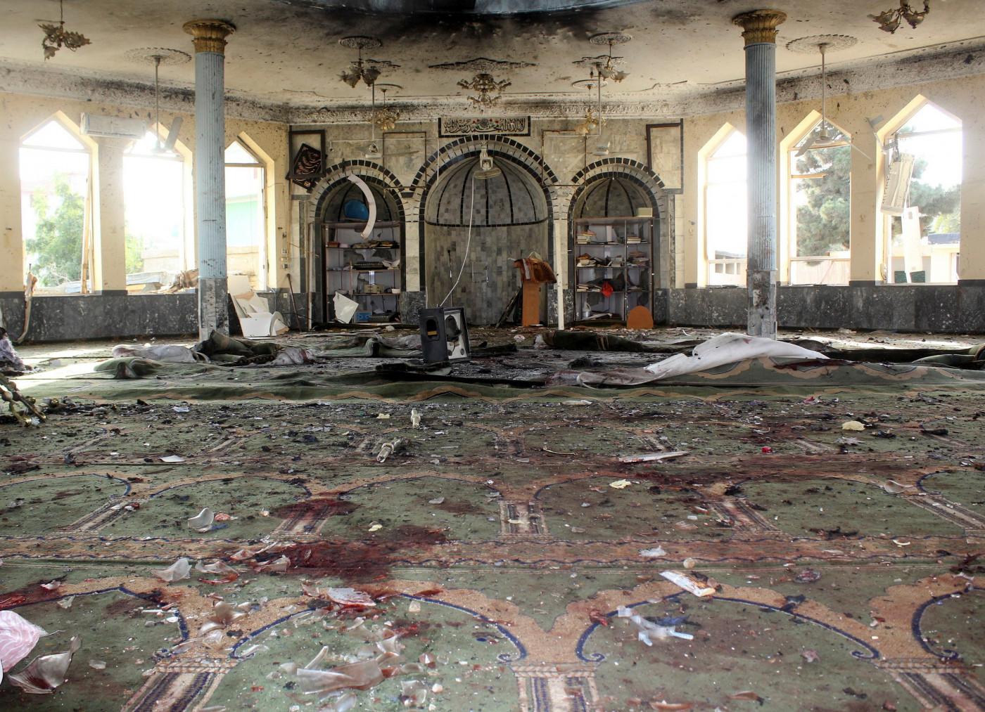 ataque em mesquita; afeganistão