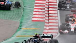 Valteri Bottas durante GP da Turquia