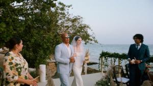 meadow walker entrando em casamento ao lado de vin diesel
