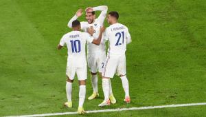 A França venceu a Bélgica por 3 a 2 na semifinal da Liga das Nações
