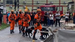 Veja fotos do desabamento de prédio em Nilópolis, no Rio de Janeiro
