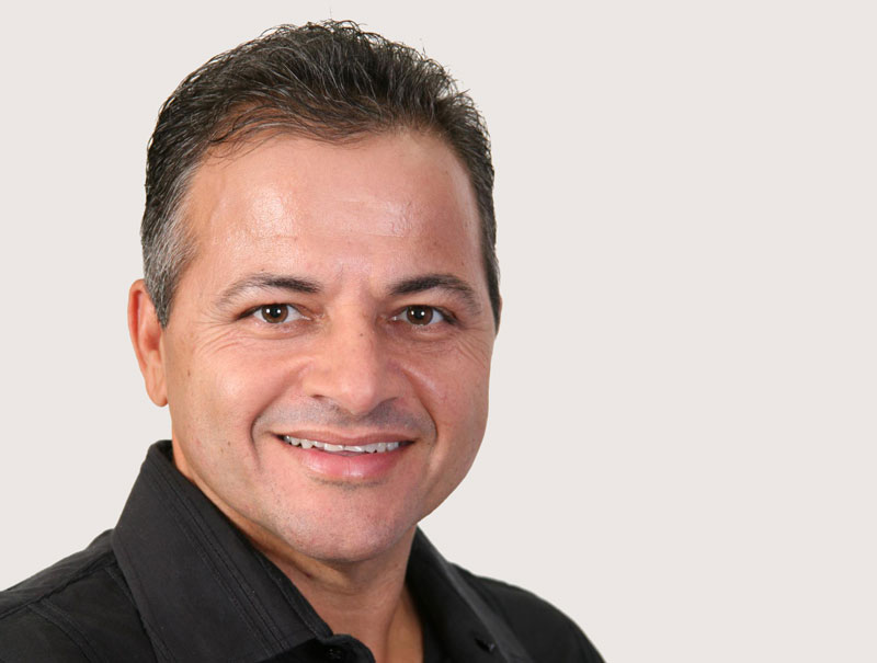 Imagem de frente do ex-deputado estadual do Amapá Isaac Alcolumbre