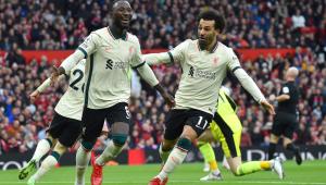 Mohamed Salah e Keita brilharam na goleada do Liverpool sobre o Manchester United