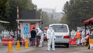 Governo chinês realizando testes contra a Covid-19